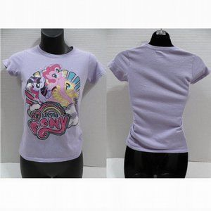 My Little Pony top Large 10/12 graphic cartoon
